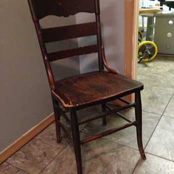 Vintage Farm Chair (?)
