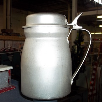 ALUMINUM PITCHER - Military and Wartime