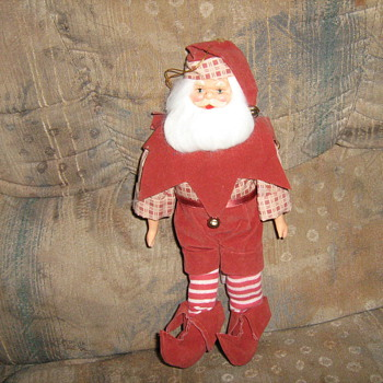 "1954 11"" Santa Christmas tree ornament - Christmas"
