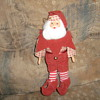 "1954 11"" Santa Christmas tree ornament"