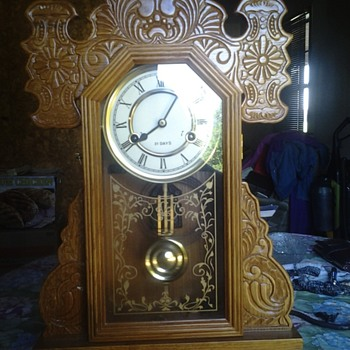 weihai ps mantle clock
