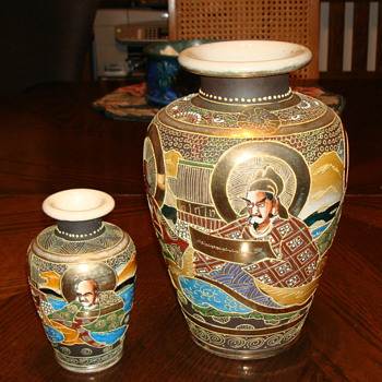 Japanese vases