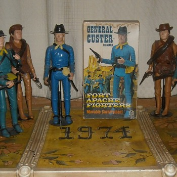 Marx General Custer 1968 Fort Apache Fighters