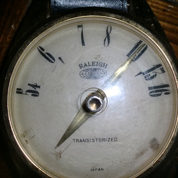 Raleigh Transistorized Radio Watch
