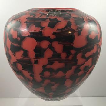Loetz late Diaspora-type vase, st PN 2/524, ca. 1940 - Art Glass
