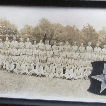 WWII US 99th Division Photo