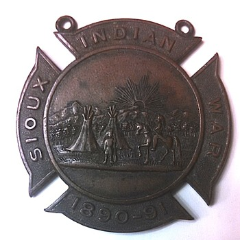 Nebraska National Guard Sioux Indian War Medal