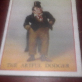 "Copes Cigarette Cards "" Charles Dickens"""