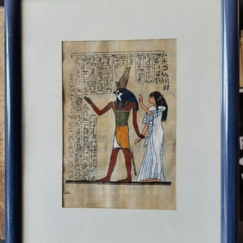 scene from a BC Egyptian period