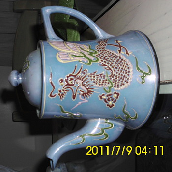 Dragon teapot - Asian