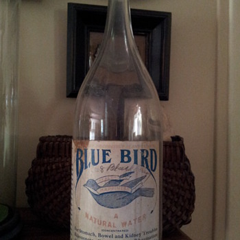 Blue Bird Water Co. Bottle