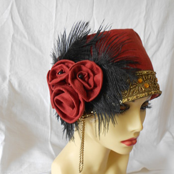 A Selection of my Handmade Vintage Reproduction Hats from ValeriesFantasyHats