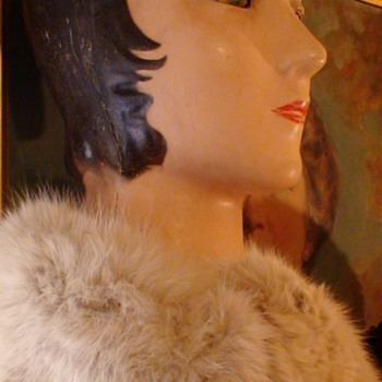 Early 1920s  Mannequin Head Glass Eyes