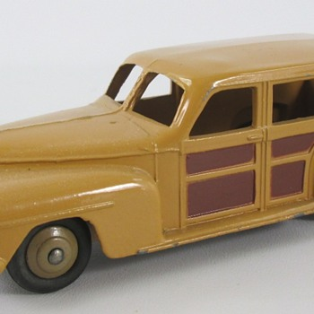 Dinky Plymouth Wagon