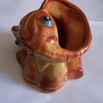 Weller Elephant - Art Pottery