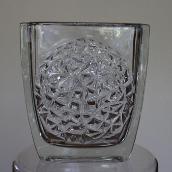 Vase for Rudolfova Glassworks by Jurnikl