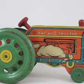 Farm Tractor by Hill Brass