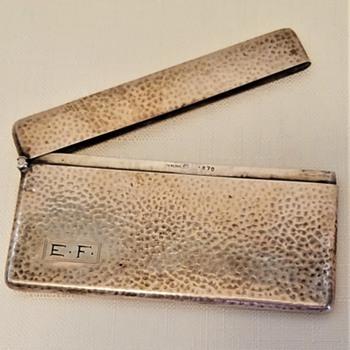 Card Case - Silver