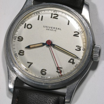 Universal Geneve Men's Wrist Watch, Sweep Second Hand