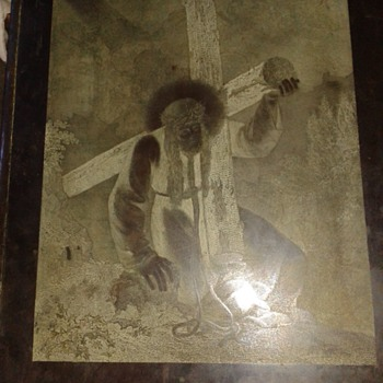 B Whittow and son copper engraved plate  - Posters and Prints