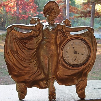 WC Victorian ??Lady Clock Ornament