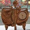 WC Victorian ??Lady Clock Ornament