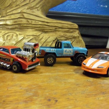 Small matchbox collection
