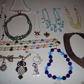 Latest necklaces.