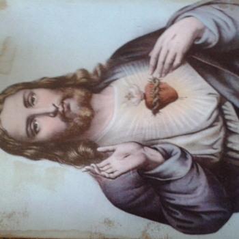 1899 Ullman MFG CO New York Jesus picture - Visual Art