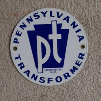 Pennsylvania transformer  - Signs