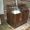 Antique Bishop &amp; Babcock Beer Cooler and Tap System