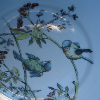 More birds of our old plates collection - China and Dinnerware