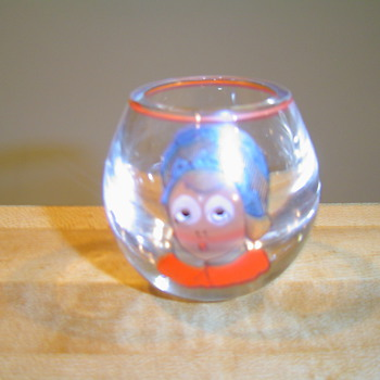 """Eyes"" Glass - Glassware"