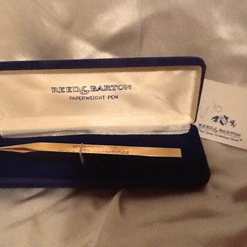Reed & Barton Gold Paperweight Pen - Pens