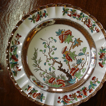 Copeland Indian tree plate  - China and Dinnerware