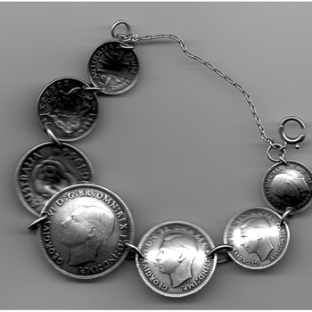 Australian WW II coin bracelets