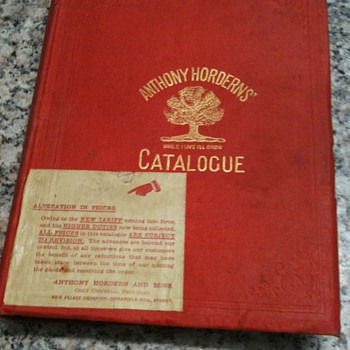 Anthony Hordern & Sons Catalogue 1907 - Books