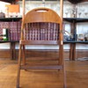 C. 1920-1930S WOOD FOLDING CHAIR
