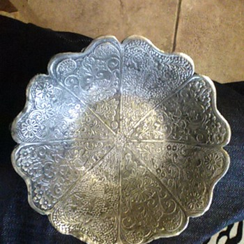 german silver bowl