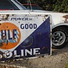 Old Pocelain Gulf Sign...sort'a