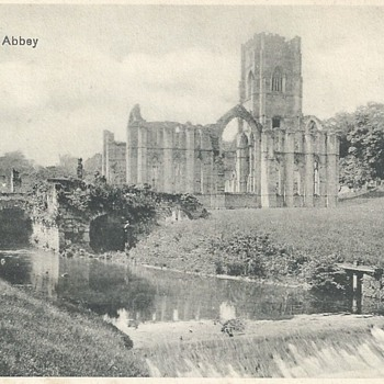 VIEWS OF FOUNTAINS ABBEY & RIVER SKELL - Postcards