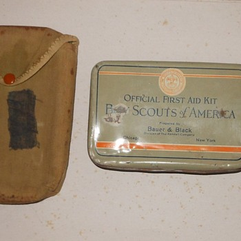 Boy Scout First Aid Kit Bauer and Black Circa 1930s