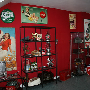 collection room part II - Coca-Cola