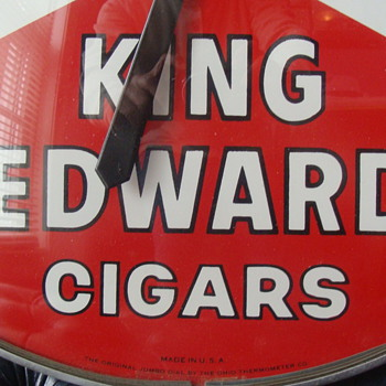 King Edwards Cigars - Advertising
