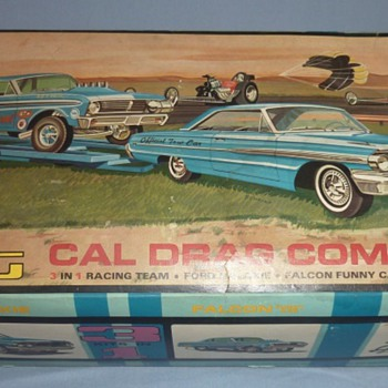 AMT Cal Drag Team Model Kit - Model Cars