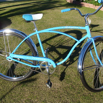 Kevin's Unrestored  1974 Schwinn Typhoon Cruiser all original