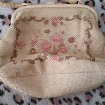Japanese vintage poppy bag