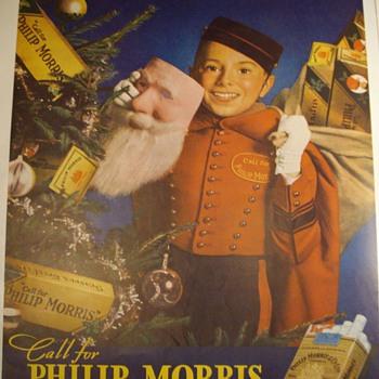 Vintage Tobacco Ads.
