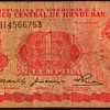 Honduras - 1 Lempira Bank Note