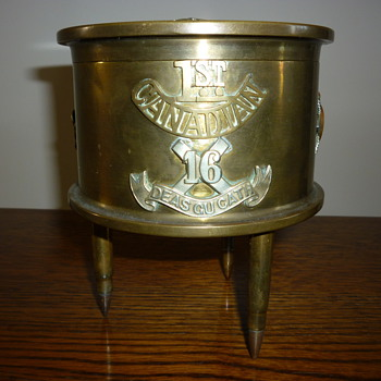 WW1 Trench Art